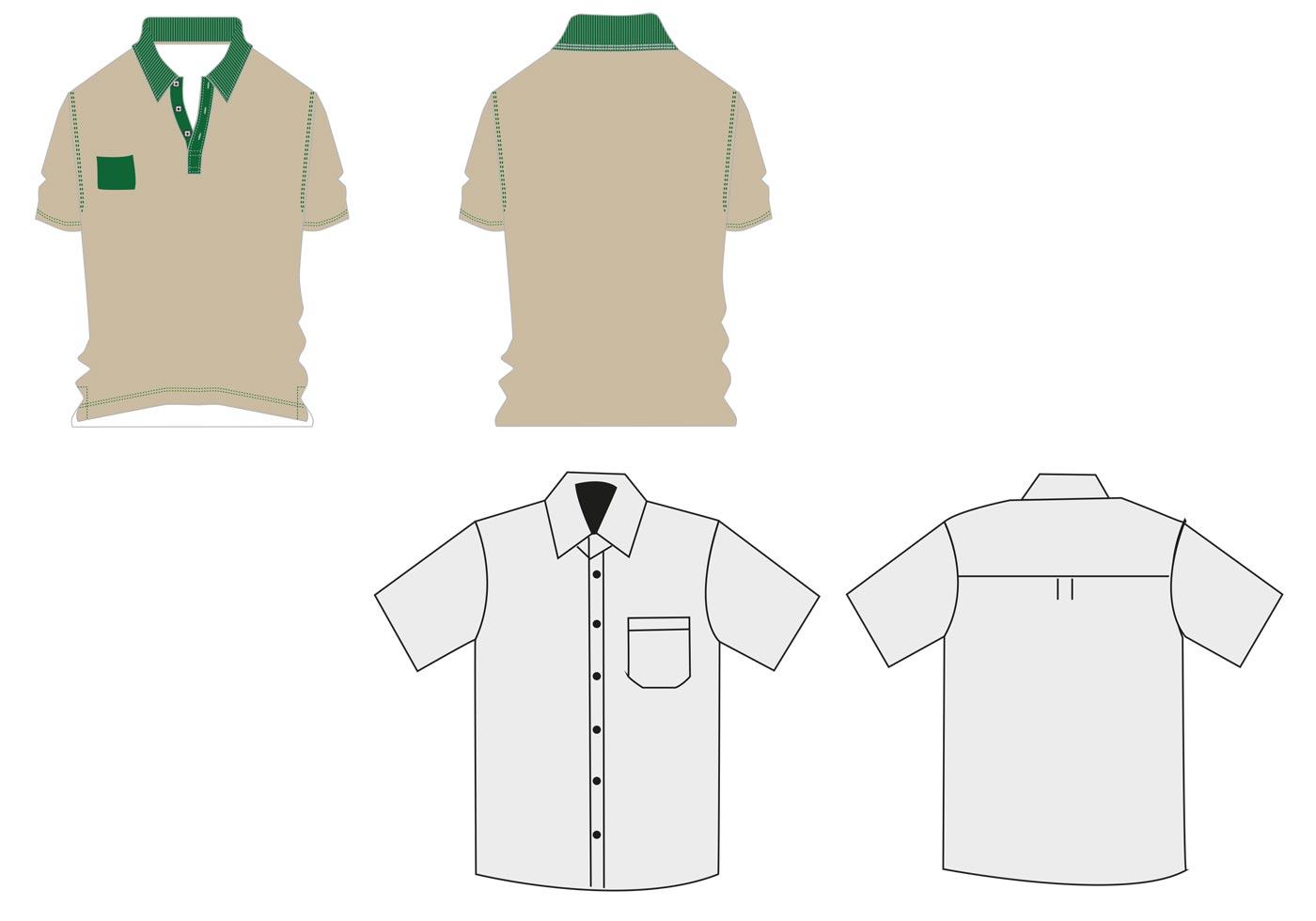 1400x980 Uniform Free Vector Art