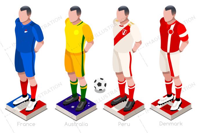 690x459 World Cup Soccer Uniform Vector