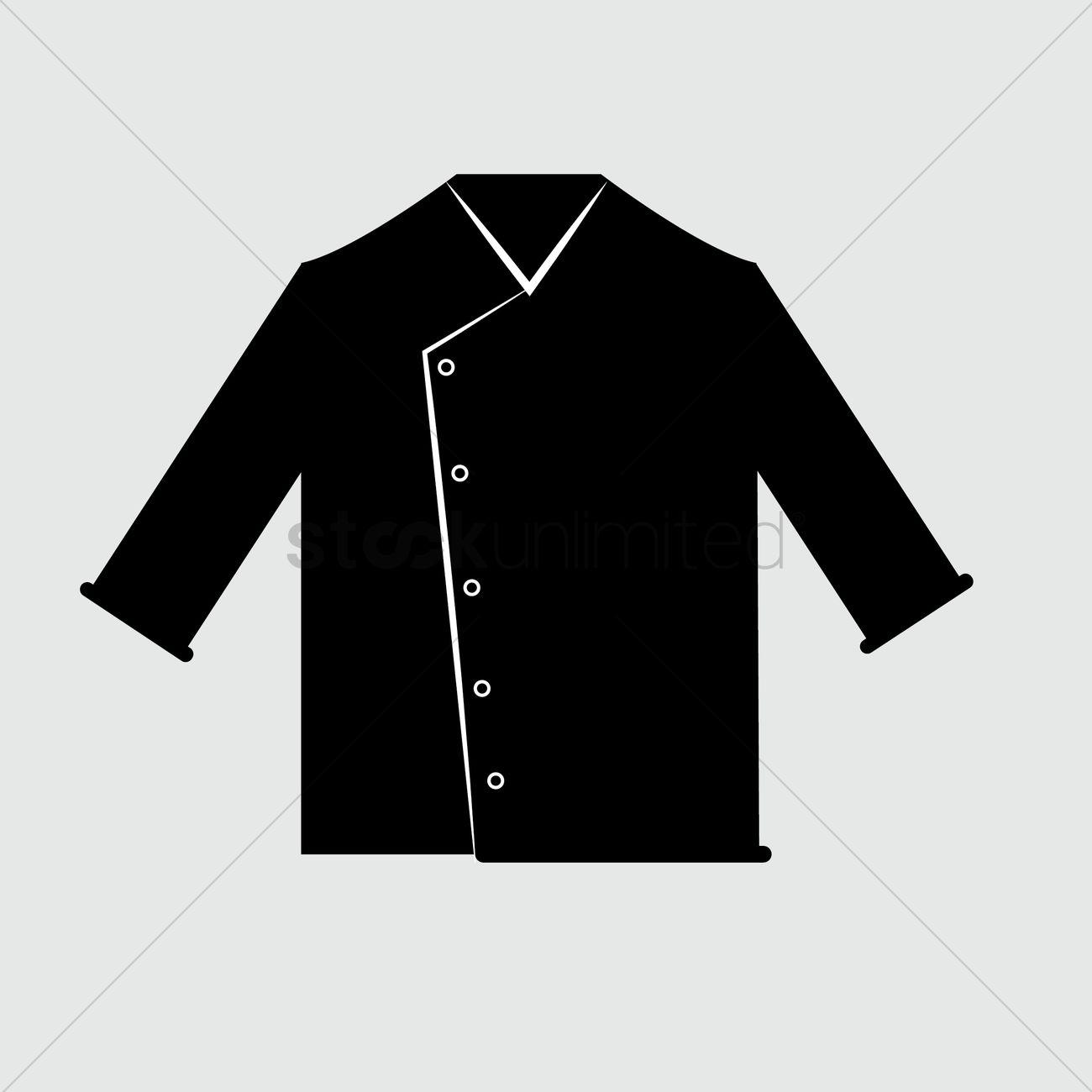 1300x1300 Chef Uniform Vector Image