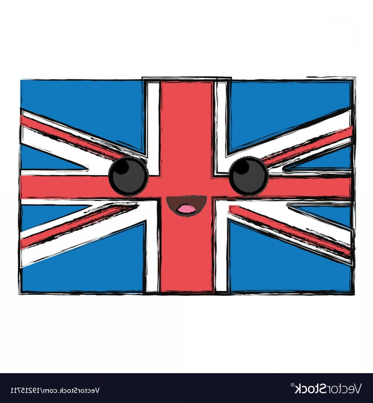 1200x1296 Kawaii Union Jack Flag Vector Lazttweet
