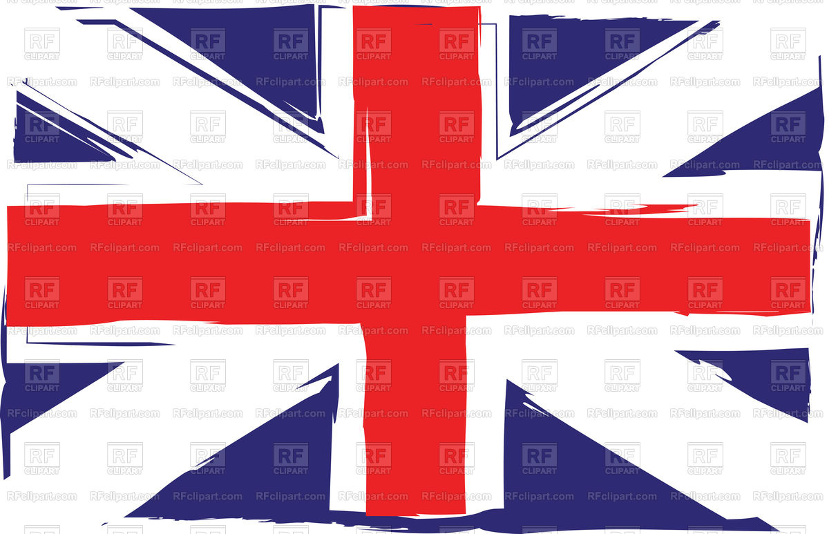 1200x773 Grunge United Kingdom Flag Vector Image Vector Artwork Of Flags