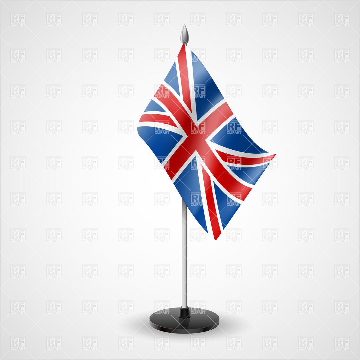 1200x1200 State Table Flag Of United Kingdom Vector Image Vector Artwork