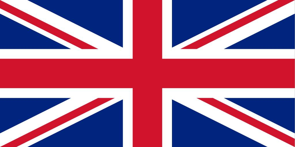 1024x512 The United Kingdom Flag Vector