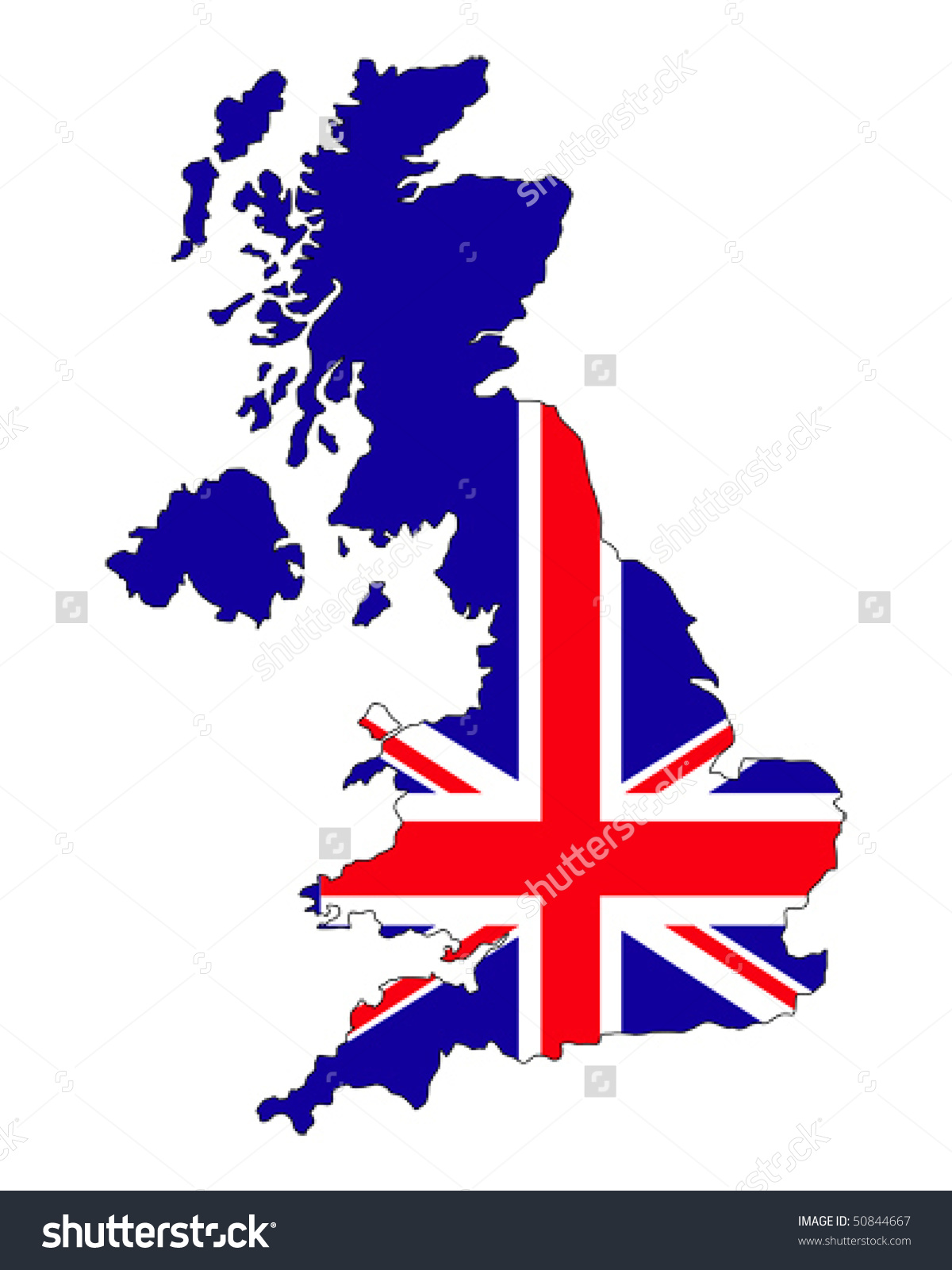 1200x1600 British Flag Clipart United Kingdom