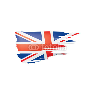 400x400 United Kingdom Flag, Vector Illustration On A White Background