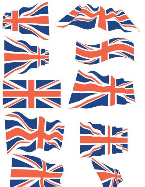 484x626 United Kingdom Flags Vector Pack British Isles