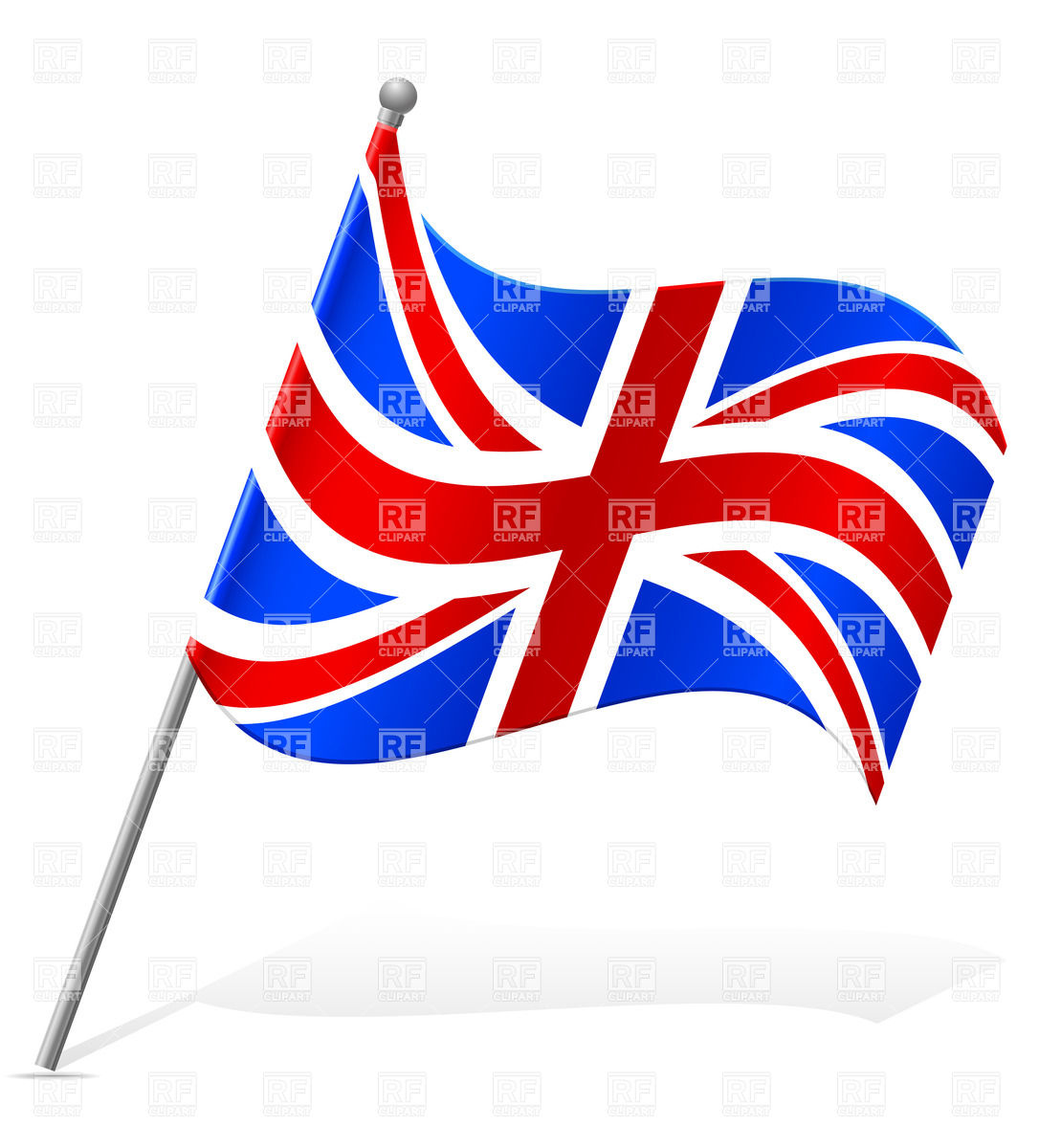 1086x1200 Wavy Flag Of United Kingdom Icon Vector Image Vector Artwork Of