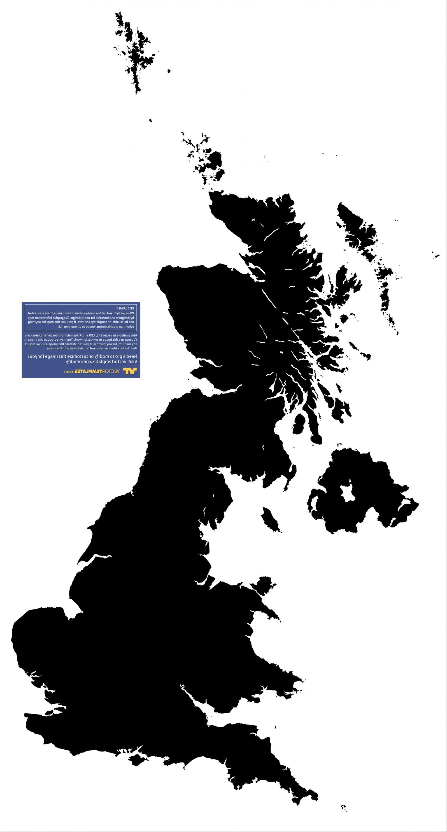 1532x2848 United Kingdom Outline Vector Lazttweet