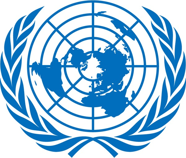 600x510 The United Nations Flag Badge Logo Vector Graphics My Free