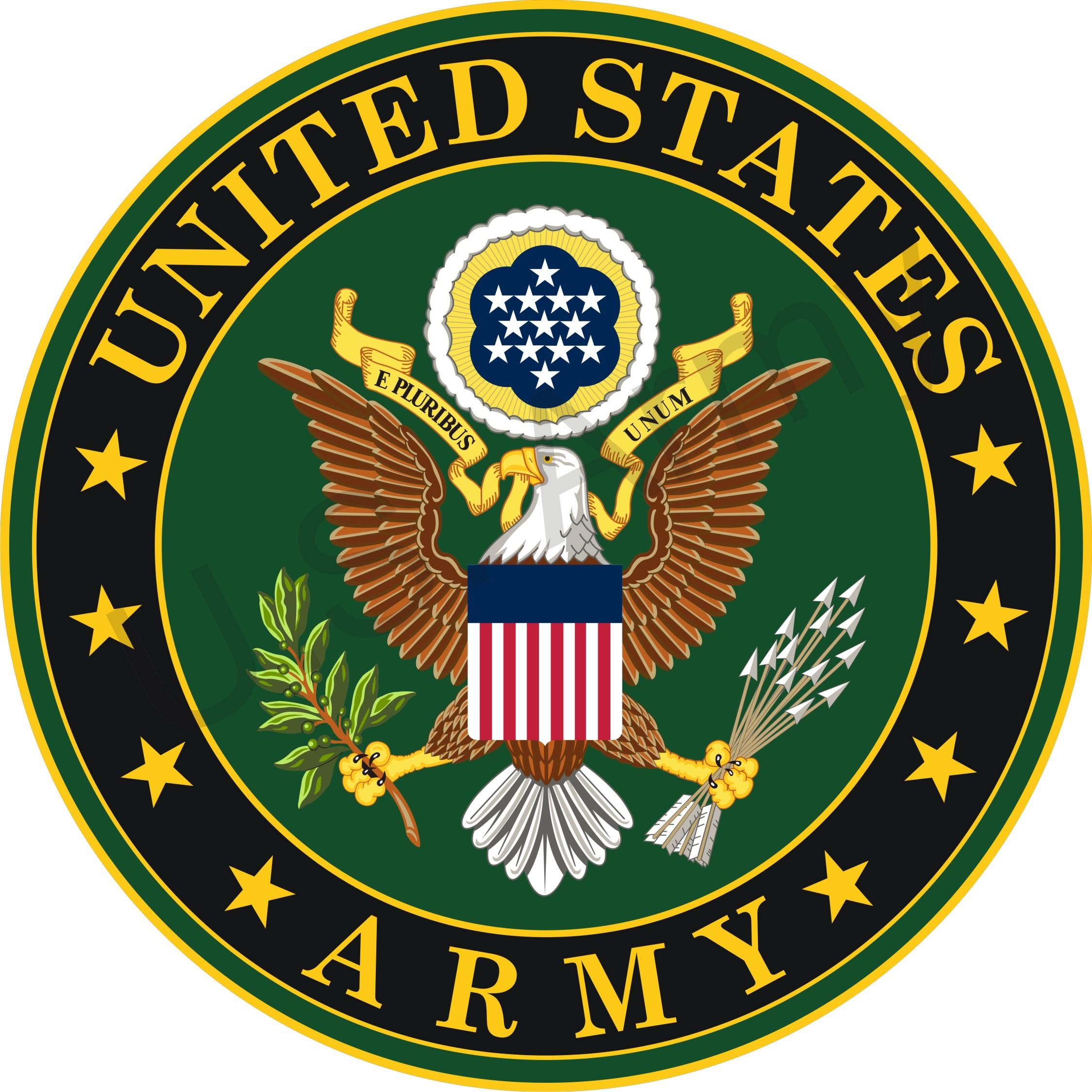 2249x2249 Army Crest Vector