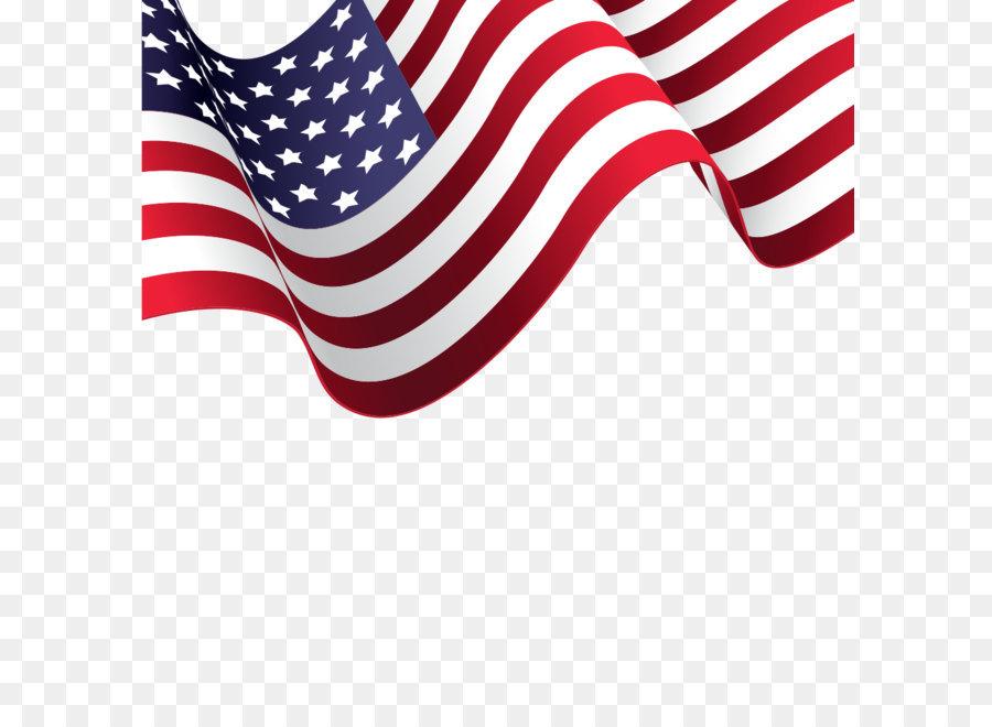 900x660 American Flag Vector Material Png Download