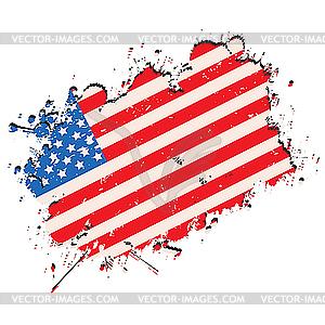 300x300 Grunge Usa Flag