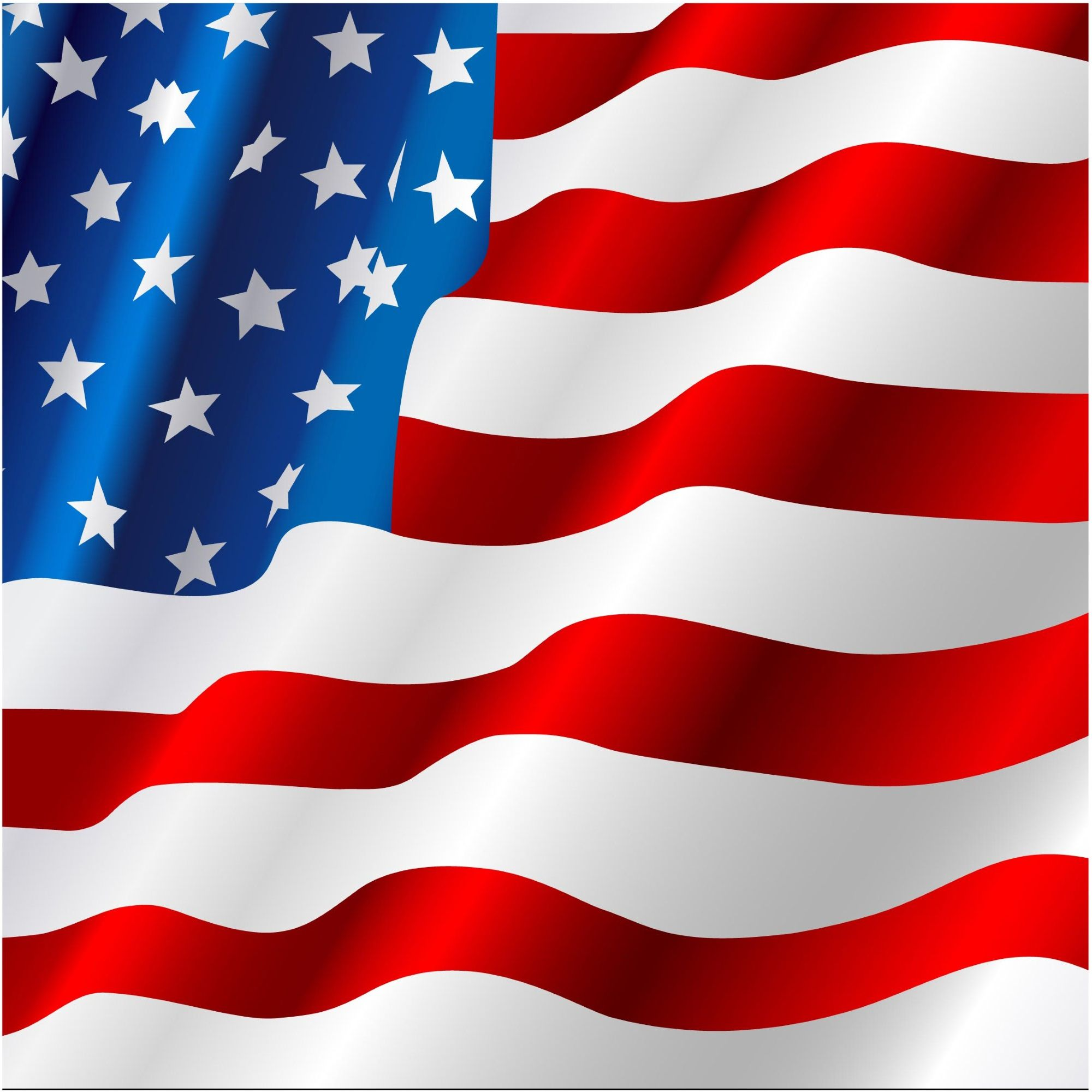 2000x2000 Usa Flag Vector Background Usa Independence Day Backgrounds