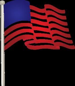 261x299 United States Waving Flag Clip Art