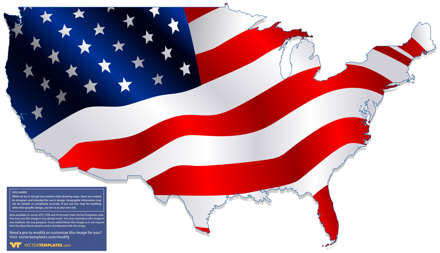 1495x860 United States Clipart Vector