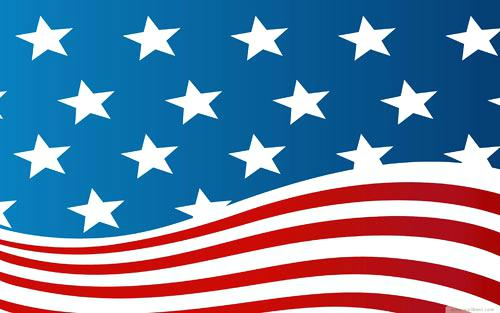 500x313 Usa Flag Vector Graphic Crazywind