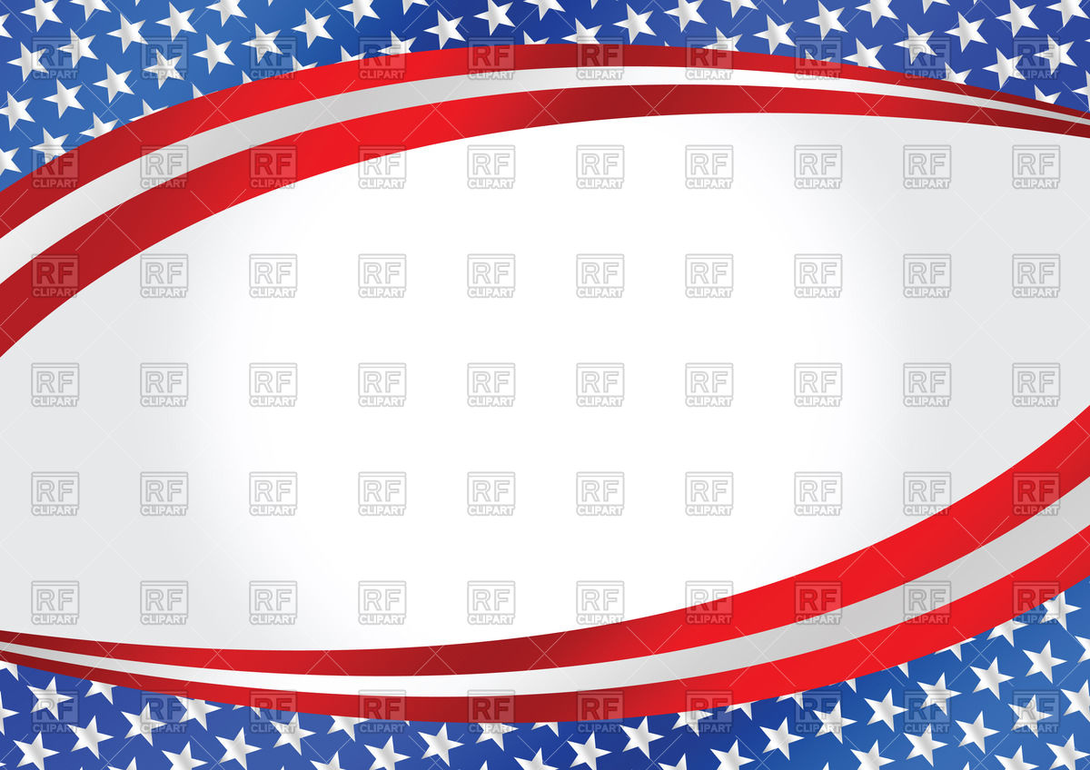 1200x848 Wavy Background With Usa Flag Vector Image Vector Artwork Of