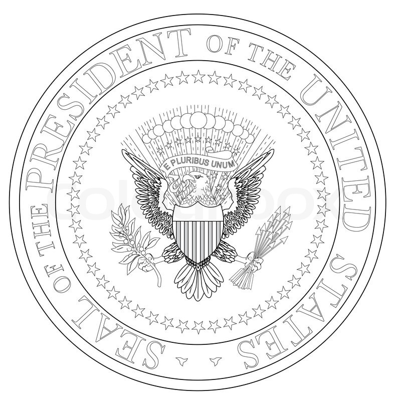 United States Seal Vector