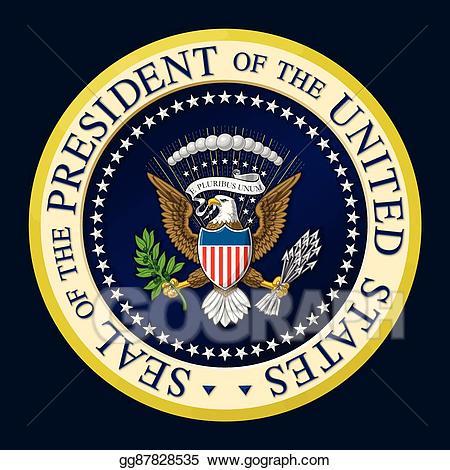 450x470 President Clipart President Seal Cute Borders, Vectors, Animated