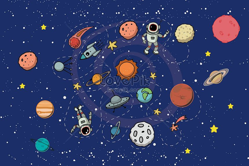 860x573 Cosmological Science And Technology The Universe, Vector, Flat