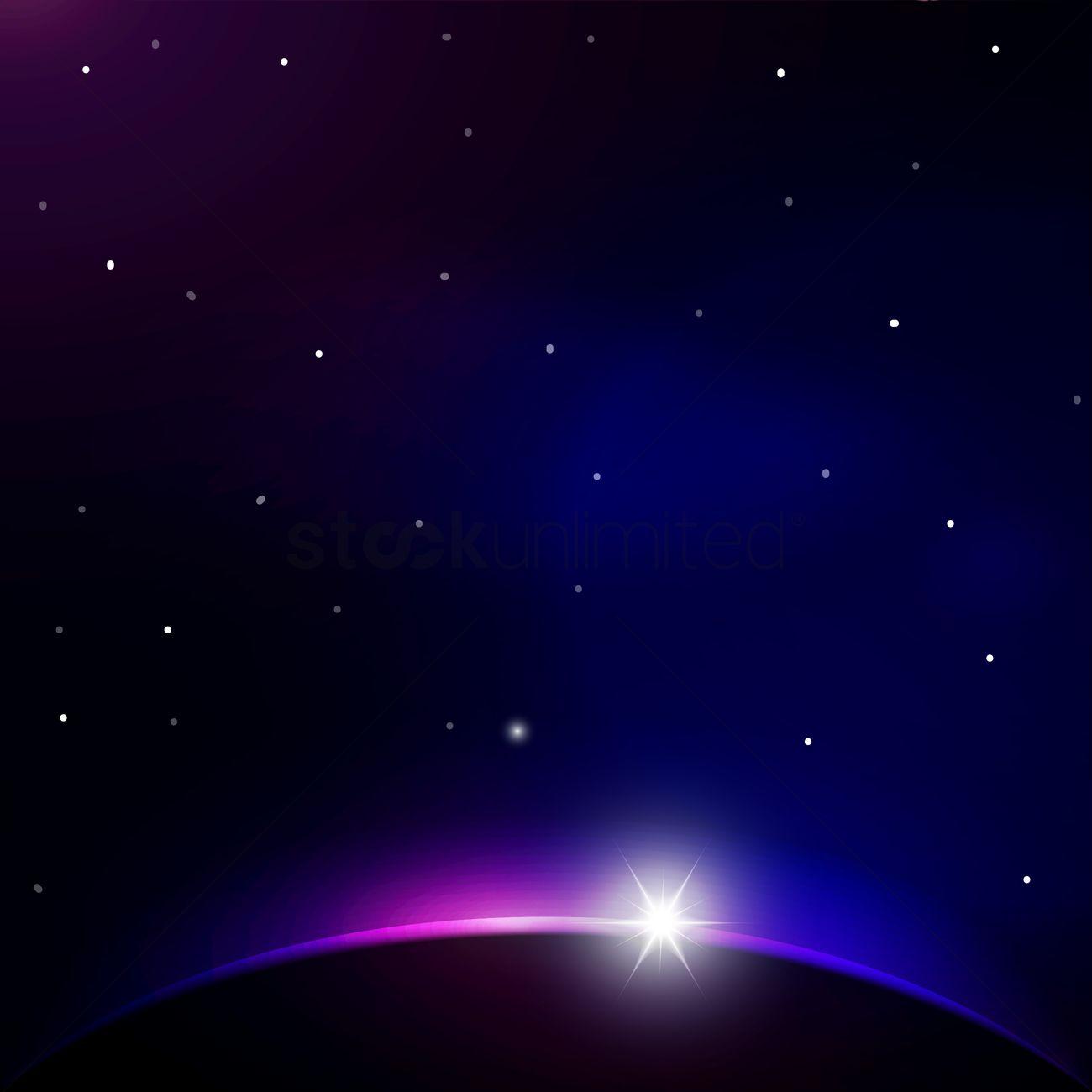 1300x1300 Universe Vector Image