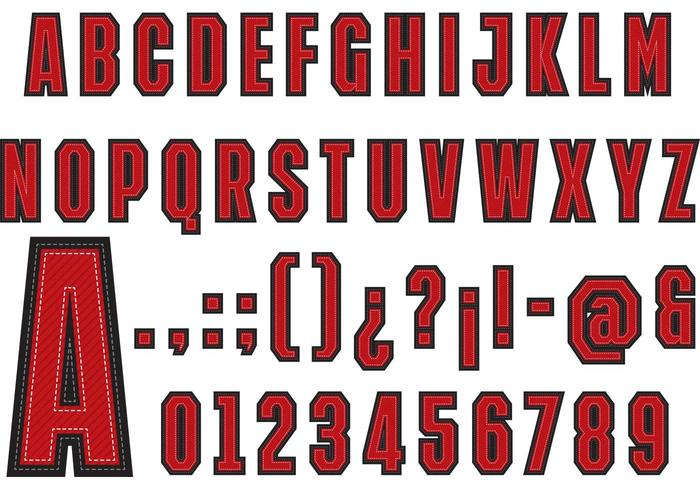 700x490 University Font Type Vector