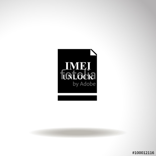 500x500 Imei Unlock Vector Icon. Stock Image And Royalty Free Vector