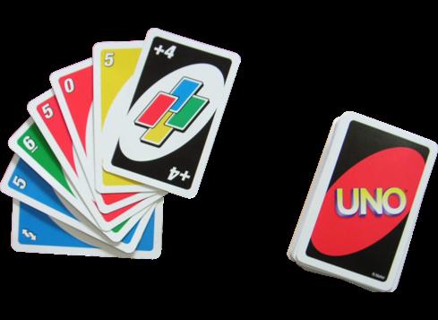 Uno Card Vector