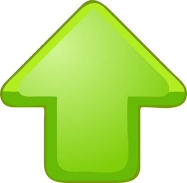 377x368 Up Arrow Vector Free Vector Download (3,800 Free Vector) For