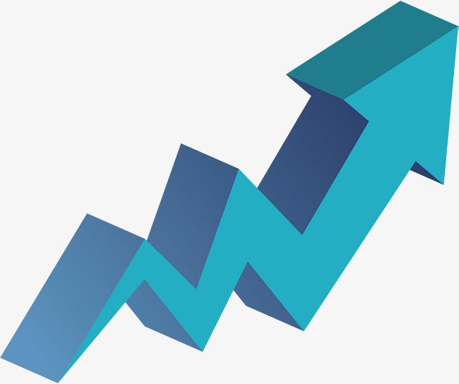 650x544 Blue Curve Up Arrow, Blue Vector, Curve Vector, Arrow Vector Png