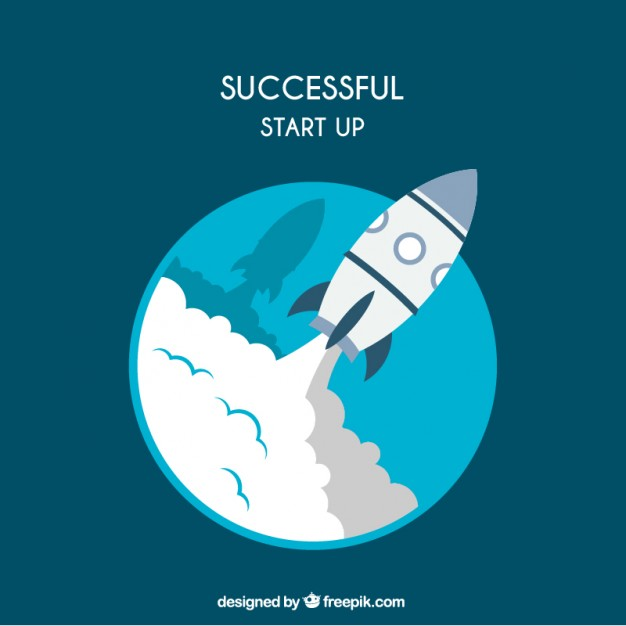 626x626 Successful Start Up Vector Free Download