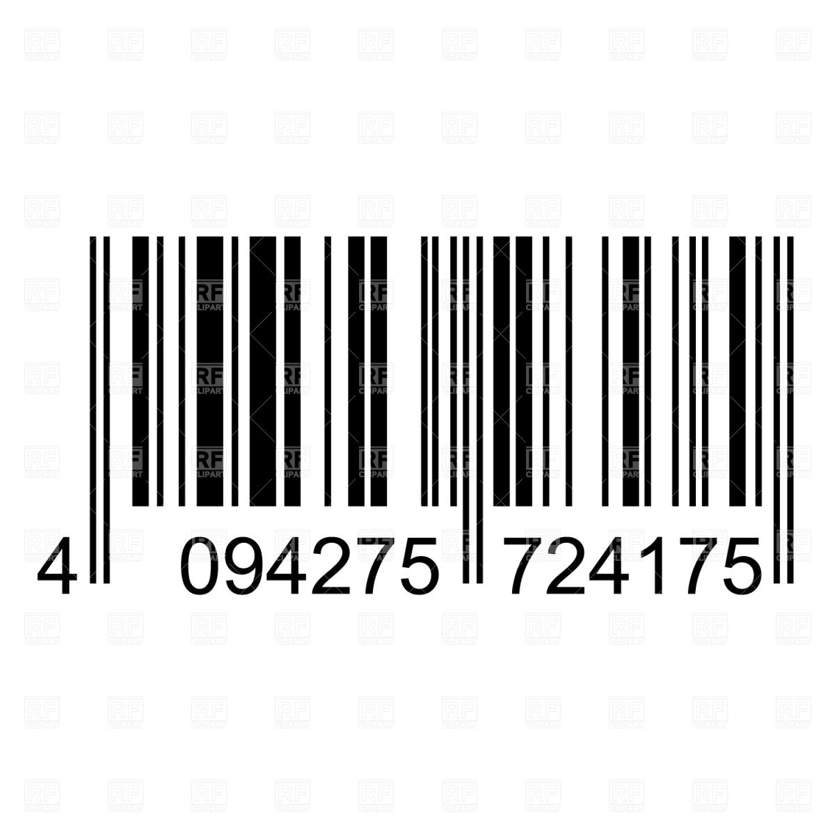 Upc Code Vector