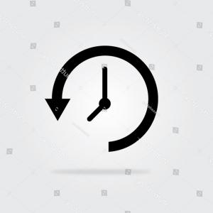300x300 Update Time Icon Shadow Vector Illustration Orangiausa