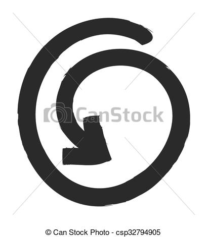 409x470 Update Icon, Refresh Symbol, Vector Design Element.