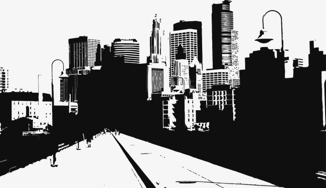 650x375 Urban Road Vector Illustration, Road Vector, City U200bu200broad, The Way
