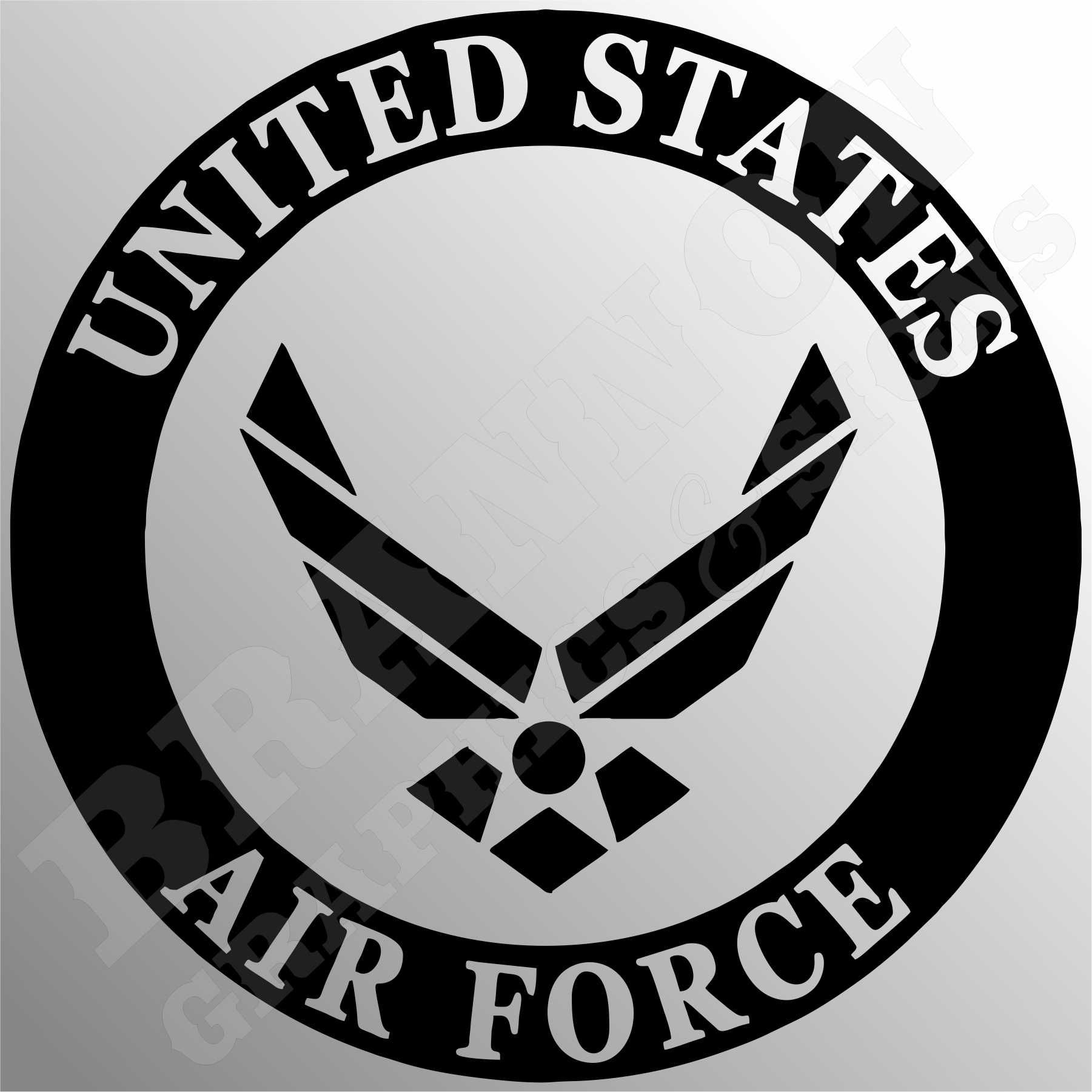 1801x1801 Us Air Force Logo Military Themed Design That Can Be Made Into