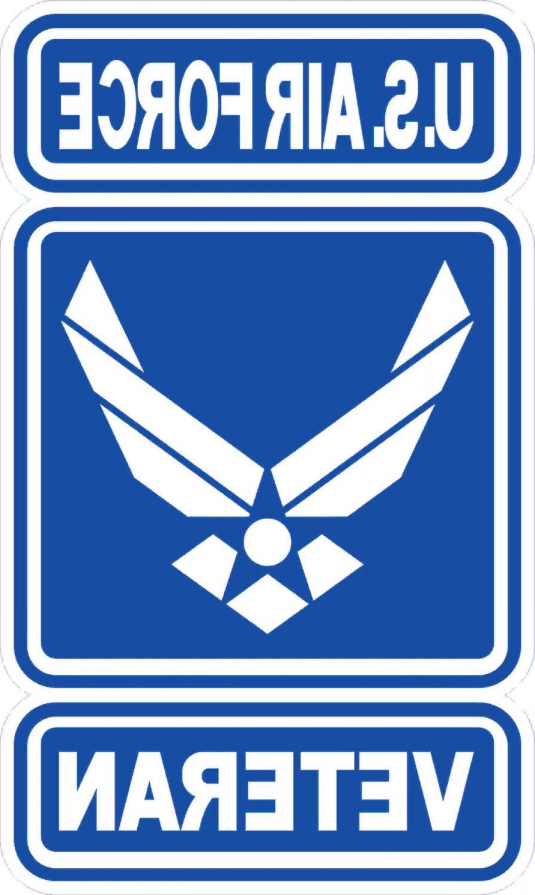 1076x1800 Us Air Force Logo Vector Download Shopatcloth