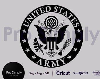 340x270 Army Logo Svg Etsy