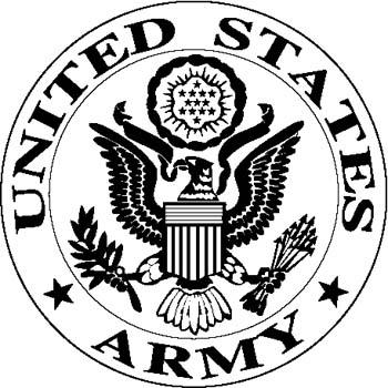 350x350 Army Logo Clipart