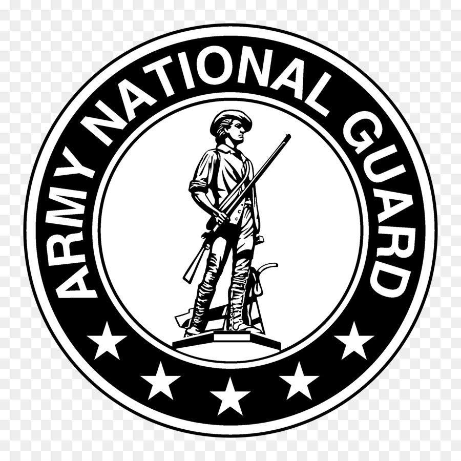 900x900 National Guard Logo Vector Black