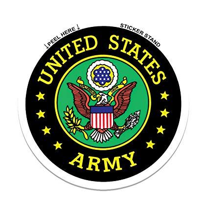 425x425 World Design U.s. Army Seal Car Decalsticker Automotive