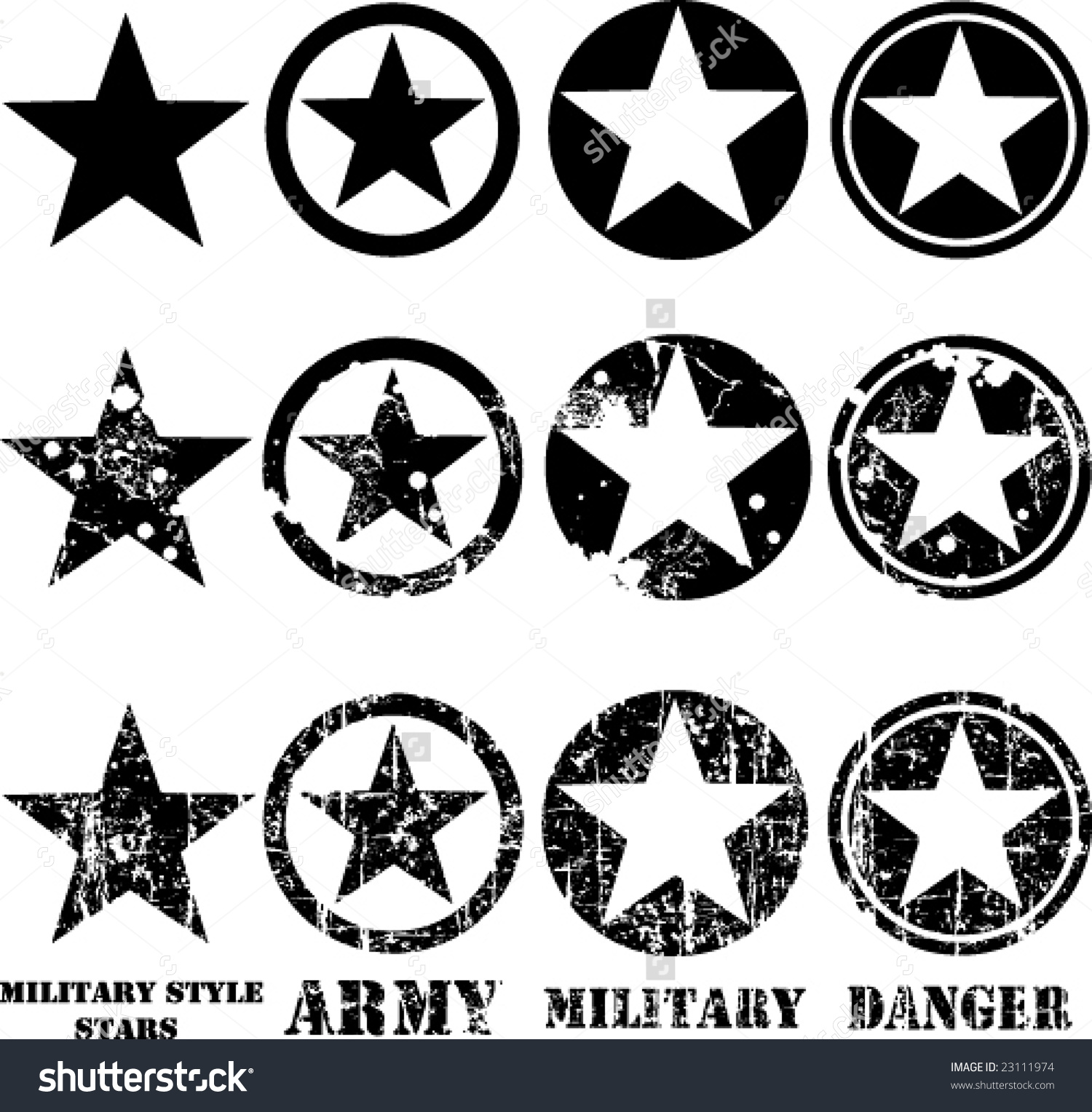 1500x1528 Top 10 Stars Clipart Us Army Image