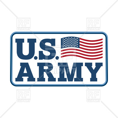 400x400 Us Army Emblem. Flag Of America. Vector Image Vector Artwork Of