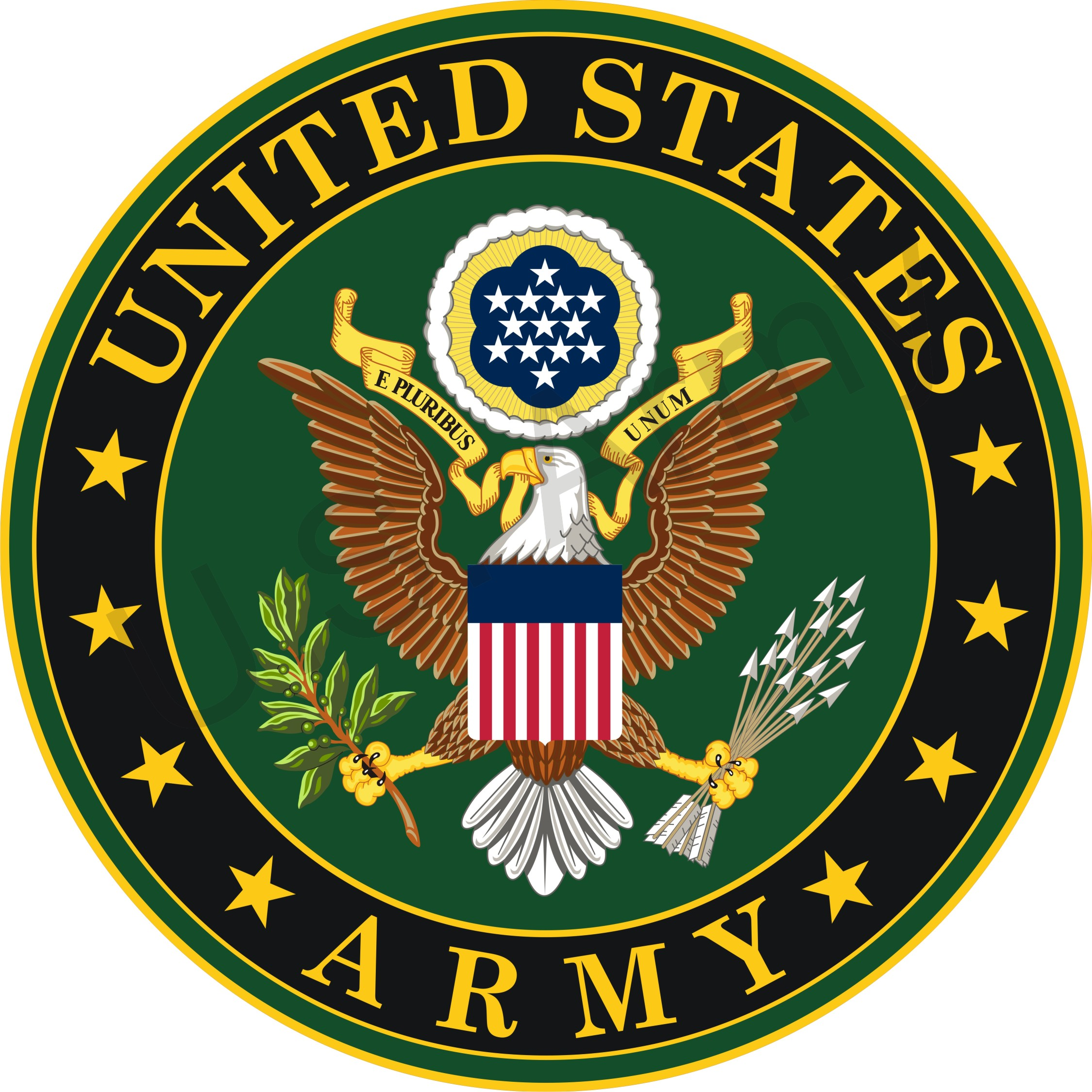 2249x2249 United States Army Vector Free Stock