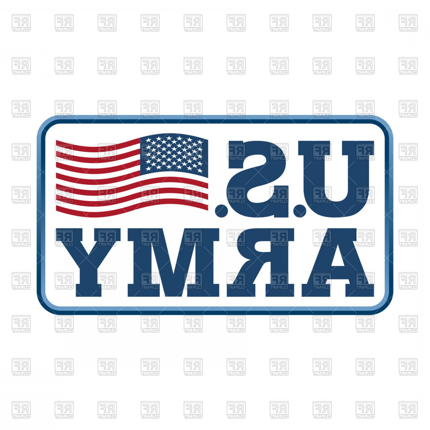 1440x1440 Us Army Emblem Flag Of America Vector Clipart Arenawp