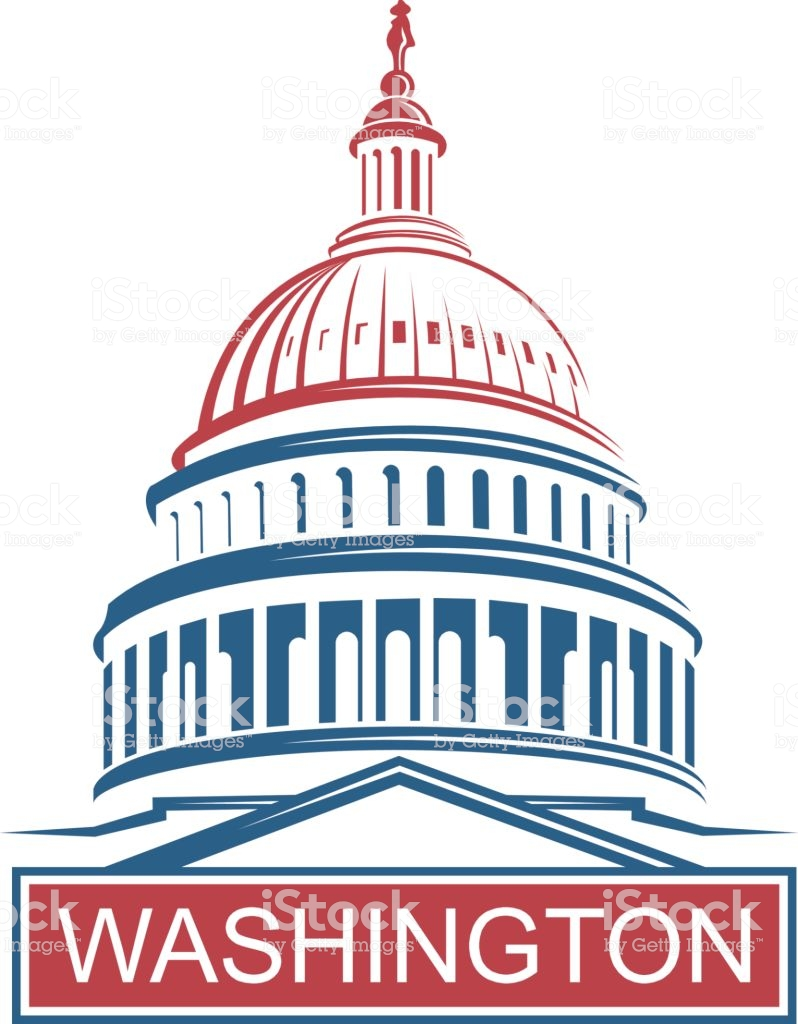 Us Capitol Vector