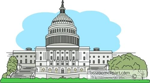 500x276 Capital Building Clip Art Square Capital Building Vector Image And