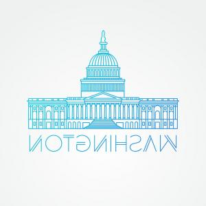 300x300 Washington Dc Us Capitol Building Vector Arenawp