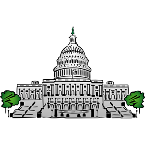 300x300 Us Capitol Building Cli 01 Clipart, Cliparts Of Us Capitol