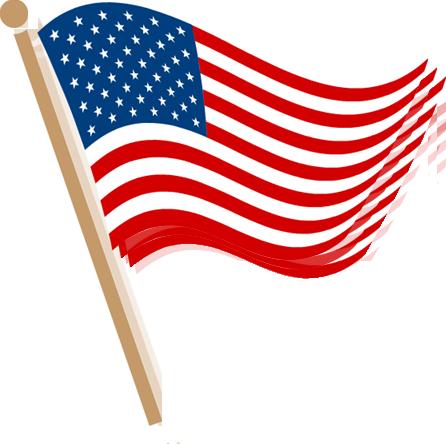 Us Flag Clip Art Vector